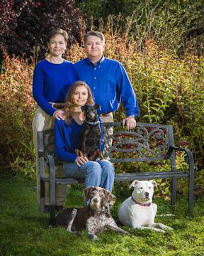 Life Cycle Pet Cremation - The Langley family